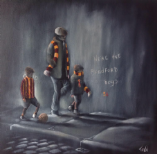 We're the Bradford Boys -Poster Print 20'' x 20'' approx